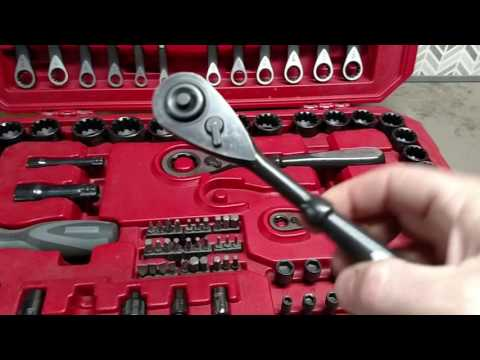 CRAFTSMAN MAX AXESS UNIVERSAL MECHANICS TOOL SET