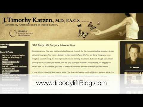 360 Body Lift Blog Introduction | Beverly Hills Plastic Surgeon Dr. Timothy Katzen | Los Angeles