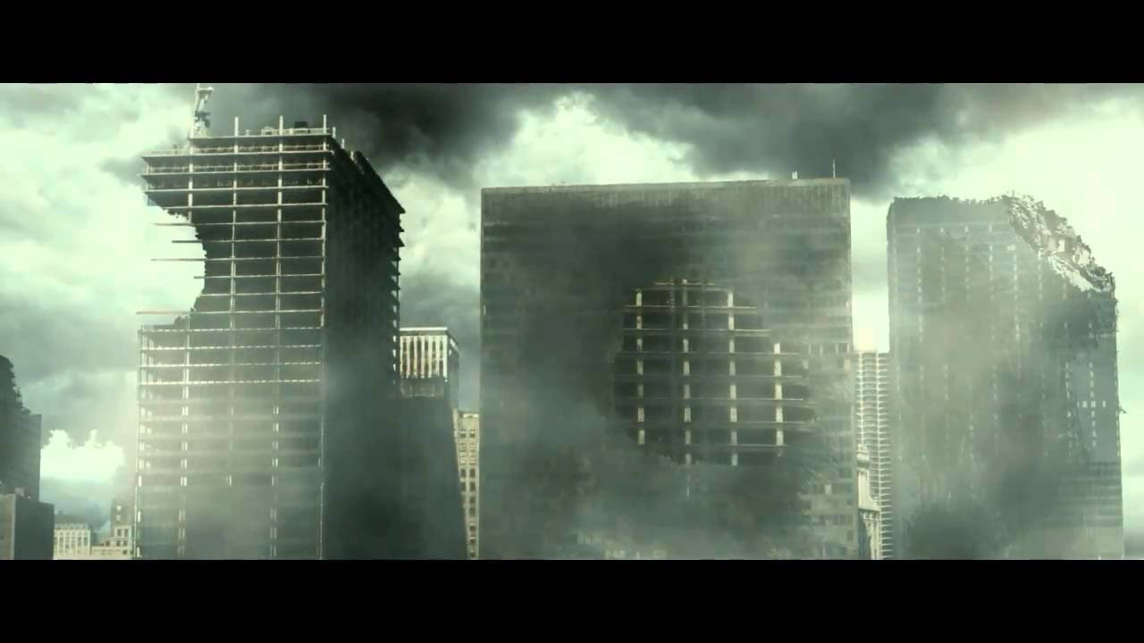 After Effects Post Apocalyptic Destroyed City Test Youtube