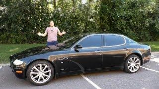Подержанная Maserati Quattroporte - это лучший способ выглядеть богато за $20 000