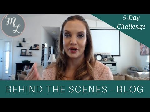 Behind The Scenes of an Ideal Client Converting Blog Post