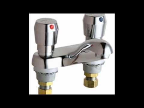 chicago faucets metering faucet youtube