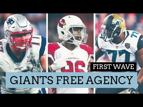 New York Giants Free Agency First Wave | New York Giants Free Agent Signings