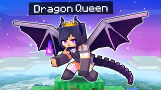 Playing Minecraft As The QUEEN of DRAGONS!
