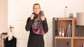 3 Varianten einen Schal zu binden thumbnail
