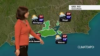 Previsão Grande Rio – Possibilidade de chuva fraca