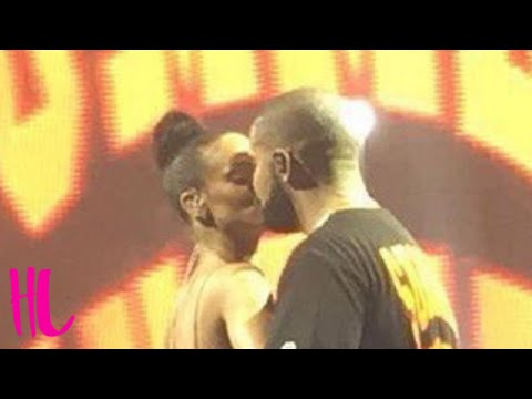 Drake & Rihanna Kiss Finally - Then Something Dirty Happens