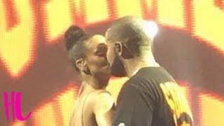 Drake & Rihanna Kiss Finally - Then Something Dirty Happens