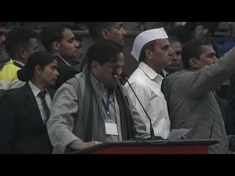 Satyagraha For Unity | Ahmed Patel Reads The Preamble At Rajghat.