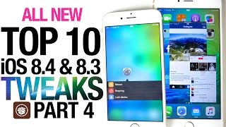 All NEW Top 10 iOS 8.4 Cydia Tweaks Part 4 - Taig 8.4 Jailbreak Compatible
