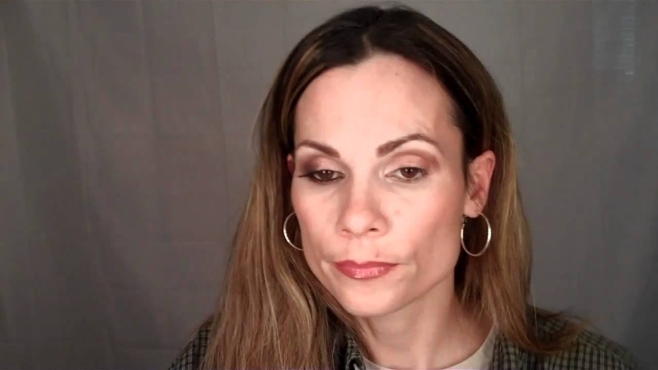 Smokey Pink And Brown Make Up Look For Deep Set Eyes Youtube