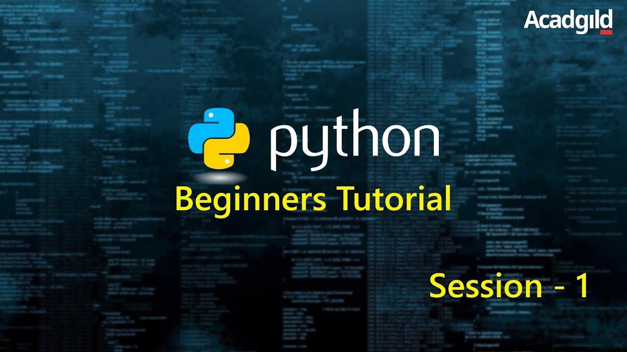 Python Tutorial for Beginners Part 1 | Python Programming Tutorial | Python  Basics