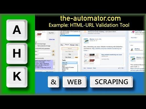 HTML - URL Testing & Validation Tool