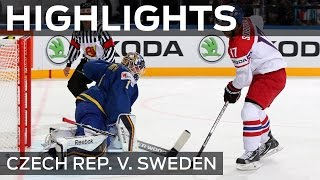 Sweden have late Czech moves | #IIHFWorlds 2015