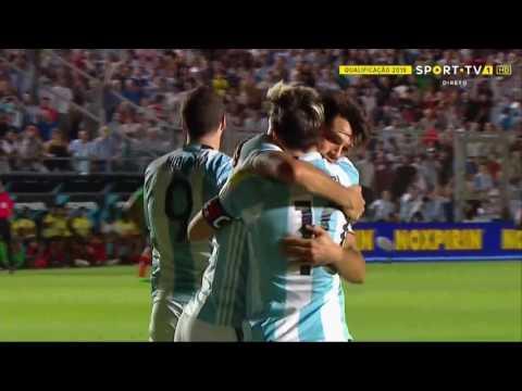 Gol de Di María • Jugadón de Messi • Argentina V Colombia • 15/11/2016