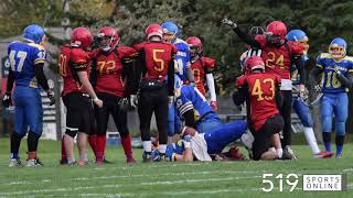 WCSSAA Football - Kitchener Collegiate vs Grand River