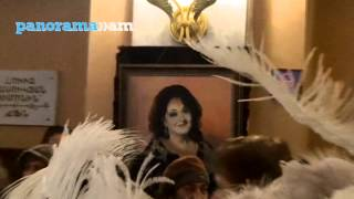 Farewell ceremony for Flora Martirosyan in Yerevan