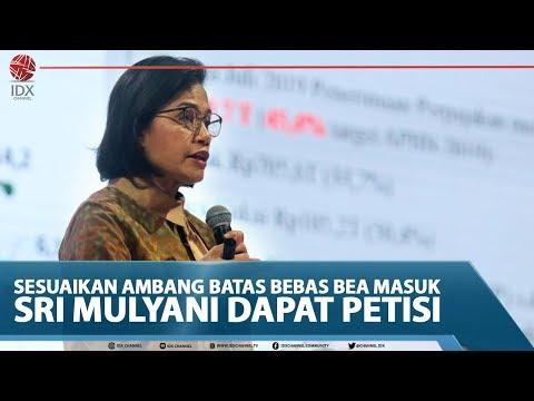 SESUAIKAN AMBANG BATAS BEBAS BEA MASUK, SRI MULYANI DAPAT PETISI - TOP FEEDS