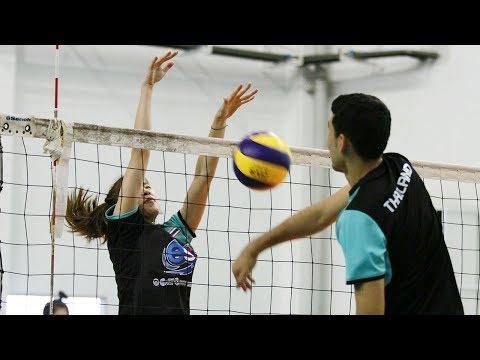 วอลเลย์บอลหญิงทีมชาติไทย ลงฝึกซ้อมครั้งสุดท้าย ก่อนแข่งเอเชียนเกมส์ 2018