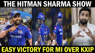 Mumbai Indians Crush Kings XI Punjab || Rohit Sharma The Hitman Sharma Show || MI v KXI Punjab