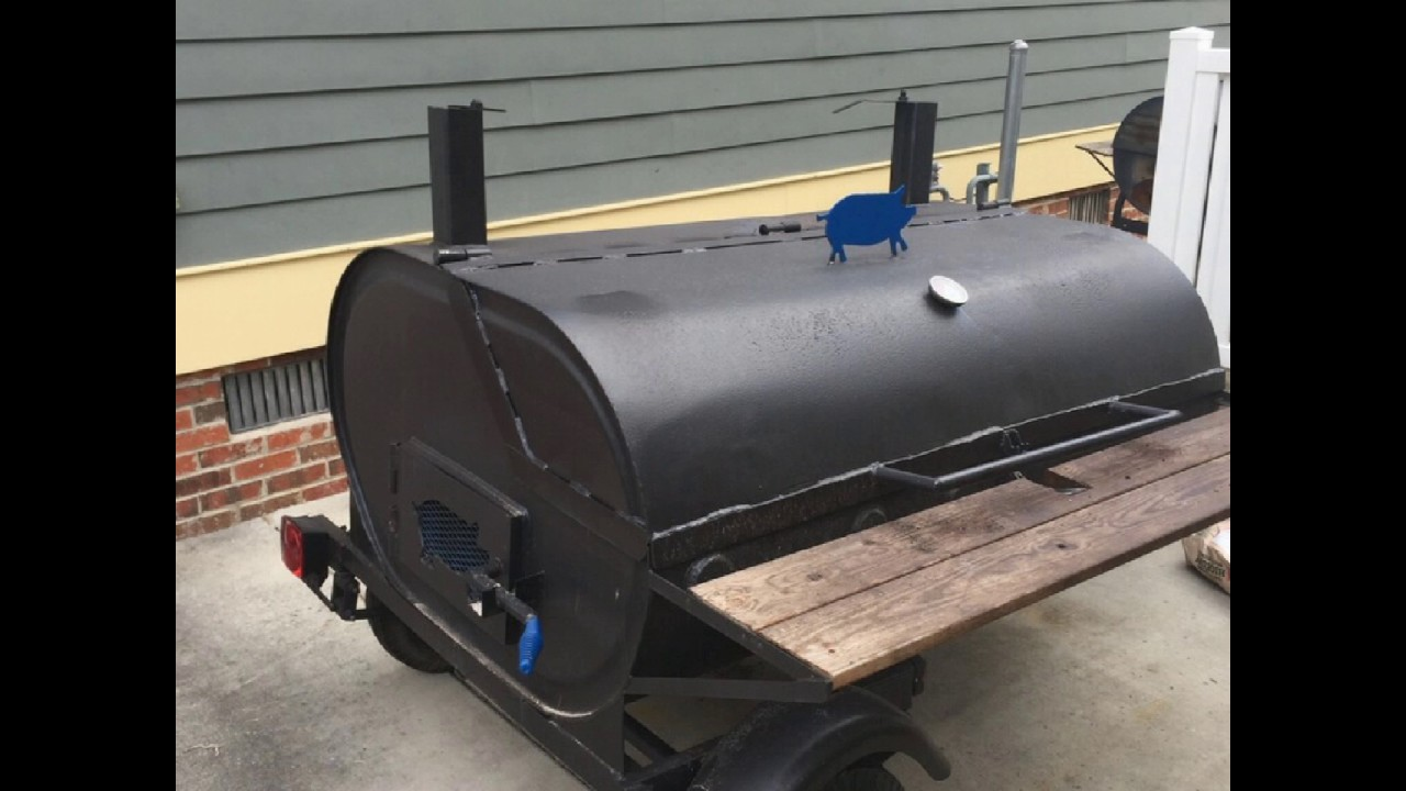 Custom Bbq Grills And Smokers
