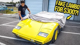 Download I Just Bought A FAKE Lamborghini For $300 Mp3 and Videos