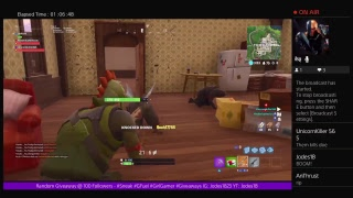 Fortnite New Update - W/ UnicornKiller565 & Giveaway @ 100 Subs