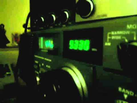 Radio Damascus (Syria) , 9330 kHz (old recording)