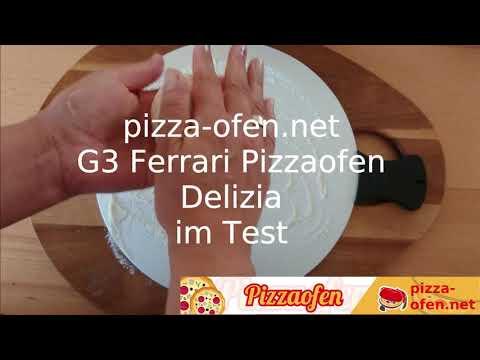 Pizzaofen G3 Ferrari Delizia Pizzamaker - Pizzazubereitung