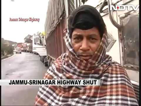 34304 rainfall Auto NDTV Efforts On To Clear Jammu Srinagar Highway, Blocked By Heavy Snow