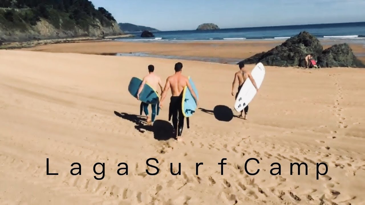 laga surf camp 2016. - youtube