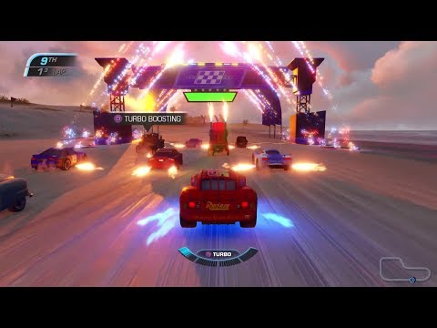 Cars 3: Driven To Win - Tutorial And First Race Event - PS4 Gameplay