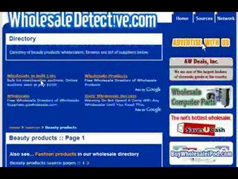 Beauty Products Wholesale - Wholesale Beauty Directory