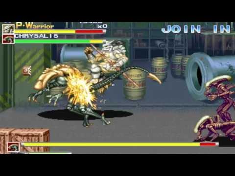 Alien Vs. Predator - Arcade - Speedrun in 23:34 (Old/Antigo)