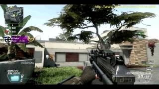 Call of Duty Black Ops 2 Multiplayer Capture The Flag Raid walkthrough BO2 Inspired by theRadBrad