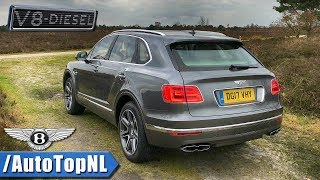 Bentley Bentayga V8 Diesel Review by AutoTopNL (English Subtitles)