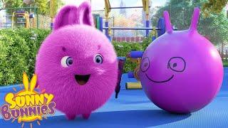 SUNNY BUNNIES - Funny Faces | Season 4 | Cartoons for Children