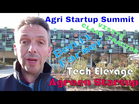 Découvrez le Agri Startup Summit, Tech Elevage, Claas, Benji Farmer...