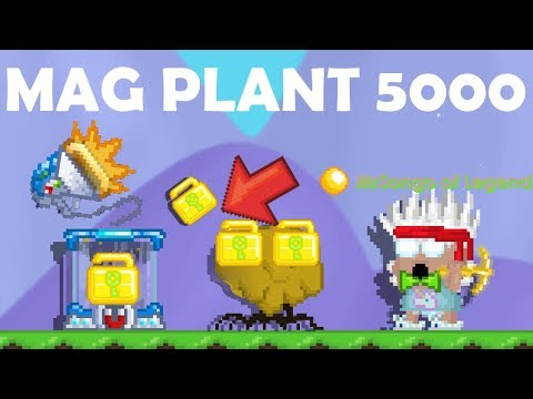 MAG PLANT 5000 + ALL NEW ITEMS!! OMG!!   GrowTopia