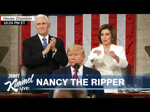 Conservatives Outraged Over Pelosi Rip While Acquitting Trump