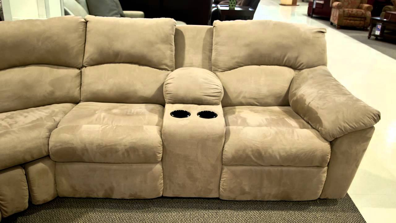 Ashley Hogan Mocha 6 Piece Sectional