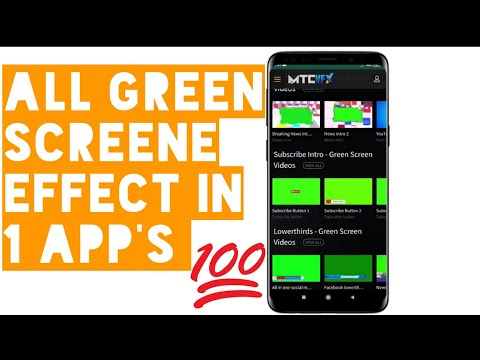 Copyright free all green screen effects in one apps || Eagle Tech BD