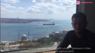 Osman Bostancı Hacc Süresi 65 Ayet Yasin süresi 43 Ayet