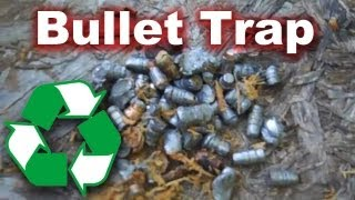 Simple & Cheap Bullet Trap