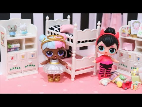 LOL Dolls Opposites Club Morning Routine ! Toys and Dolls Fun for Kids & Baby Doll Play | SWTAD