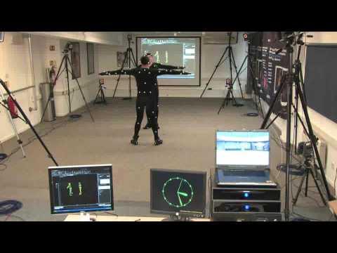 Motion Capture and MotionBuilder demo