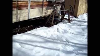 Return To The Off Grid Project And Snowy Winter Land