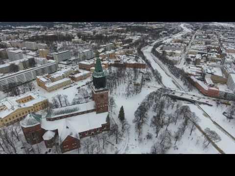 DJI Phantom 4 - Turku, Finland - 4K