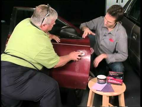 Dings And Dents >> Repairing dents and dings with 3M Bondo® Body Filler - YouTube