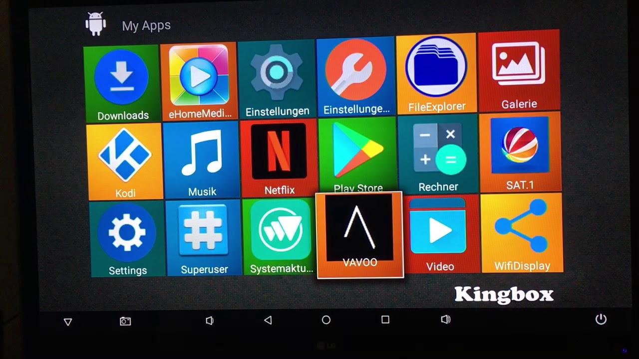 TV Box Kingbox K2 Smart Android 6 0 2Gb Ram 16Gb Rom